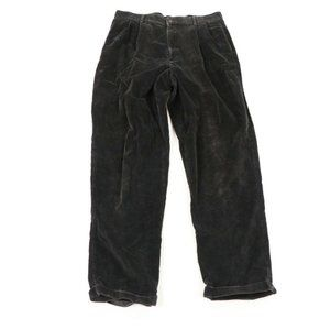 Vintage 90s Eddie Bauer Pleated Corduroy Pants